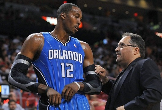 Van Gundy calls Dwight Howard the most gifted play he ever coached.