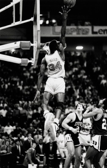 Len Bias's game was truly breathtaking. Just ask Duke. Photo courtesy of the University of Maryland archives.