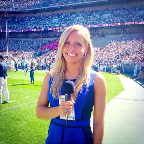 While Tatum spends most of her time training for lacrosse, her dream is to be a sideline reporter.